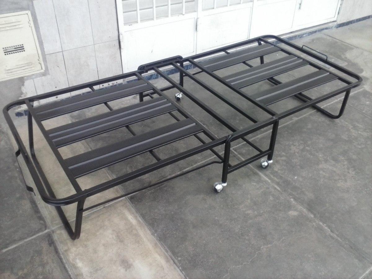 Cama plegable con ruedas bayeta sin colchon articulo - Muebles con cama plegable ...