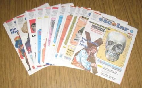 enciclopedia escolar 2004 atlas anatomía expreso 15 fascícul