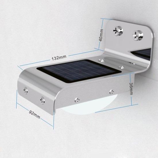 Foco led luz solar con sensor de movimiento exteriores s - Foco con sensor de movimiento ...