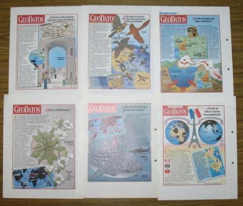 geodatos expreso geografía ecología flora fauna ciencias