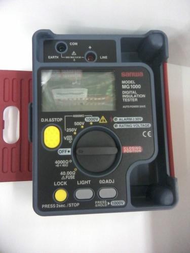 megometro sanwa mg-1000