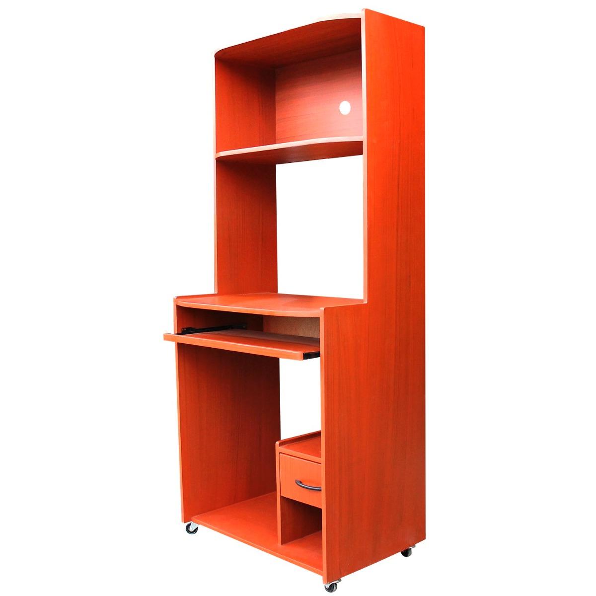 Mueble De Computo Mini Con Ruedas  Espacio Impresora  S 189,99 en
