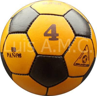 pelotas de futbol de puro cuero al 100% precio= s/38.00