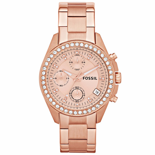 Reloj Fossil Mujer Oro Rosa