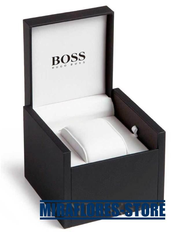 Reloj Hugo Boss 1512653 Con Correa Negra Autom 225 Tico S